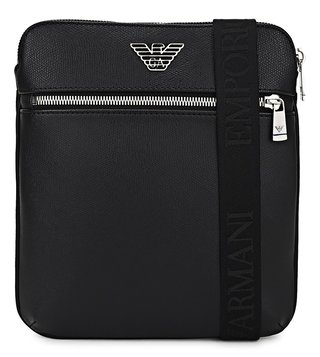 Emporio Armani Black Medium Cross Body Bag