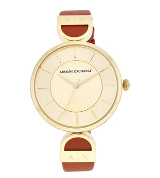 Armani Exchange AX5324 Gold Brooke Watch For Women