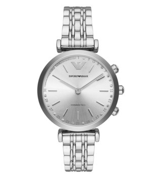 Emporio Armani ART3018 Silver Gianni T-Bar Smart Watch For Women