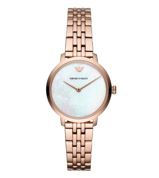 Emporio Armani AR11158 White Modern Slim Watch For Women