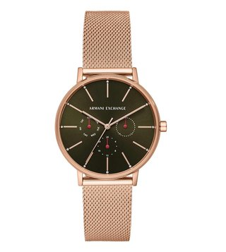 Armani Exchange Lola AX5555 Green Dial Watch for Women