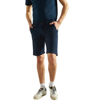 La Martina Navy Heritage Slim Fit Bermudas