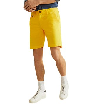 La Martina Lemon Chrome Heritage Slim Fit Bermudas