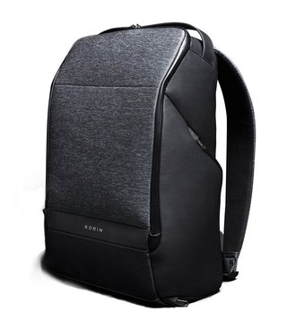 Kingsons Black Korin Design Flex Pack Pro Large Backpack