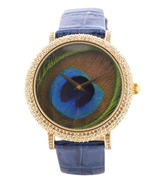 Jaipur Watch Company 90001G Peacock Wrist Watch for Women