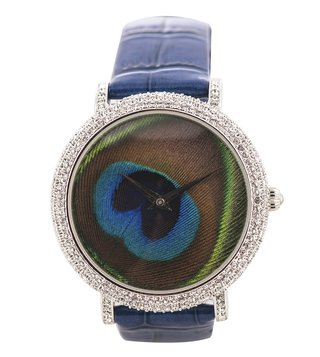 Jaipur Watch Company 90001S Peacock Wrist Watch for Women