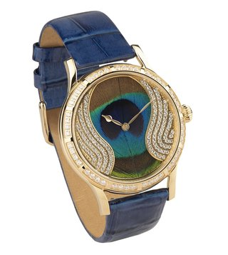 Jaipur Watch Company 90030 Peacock Wrist Watch for Women