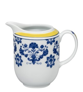 Vista Alegre Castelo Branco Yellow & Blue Floral Porcelain Milk Jug