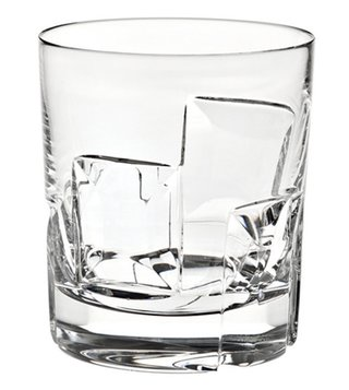 Vista Alegre Crystal Transparent Old Fashion Portrait Glass