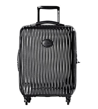 Longchamp Black Fairval Top Handle Small Carry-On Luggage