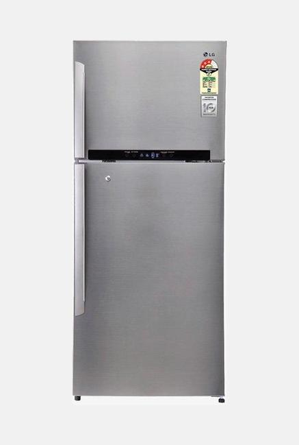 LG Double Door GN-M702HLHM 3 Star Refrigerator Silver