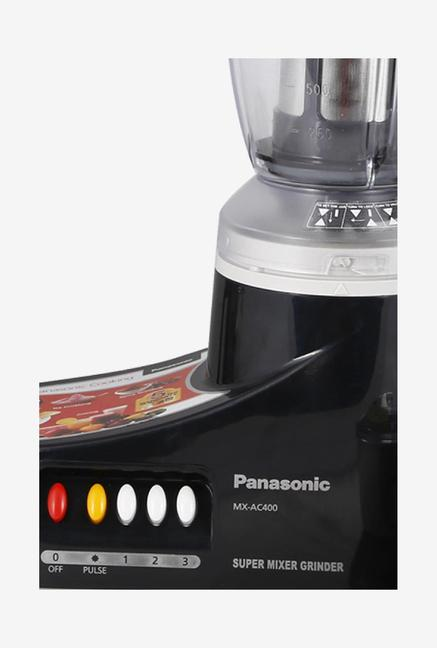 PANASONIC MX-AC400 550 W 4 Jars Mixer Grinder Black