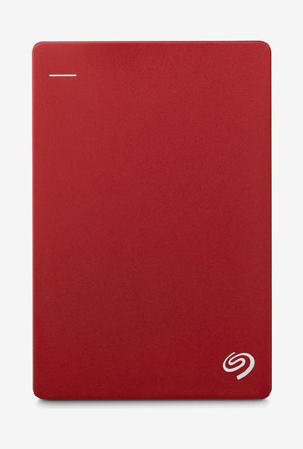 Seagate Back up Plus Slim 1 TB External Hard Drive Red