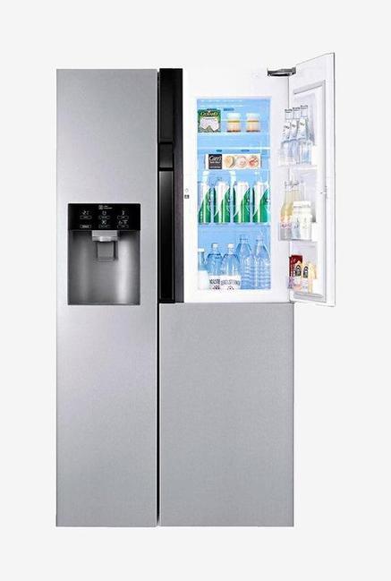 LG Side by Side GC-J237JSNV Refrigerator Noble Steel