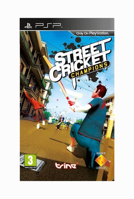 PSP Street Cricket Champions