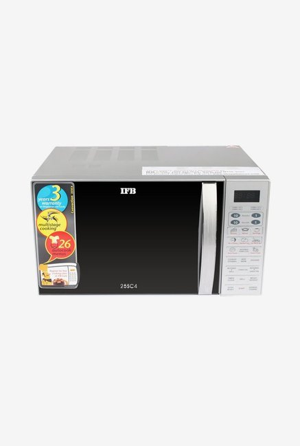 IFB 25SC4 25L Convection Microwave Oven  Metallic Silver