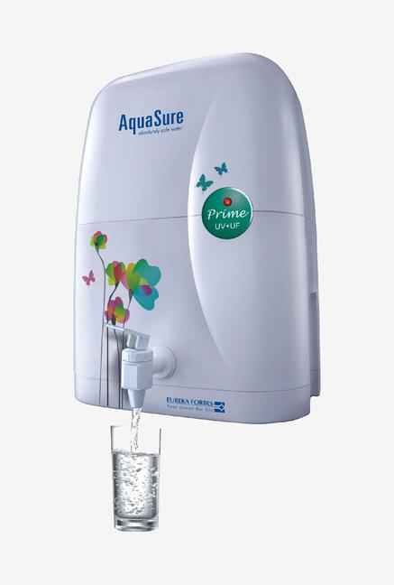 Eureka Forbes Aquasure Prime 4L UV + UF Water Purifier (White)