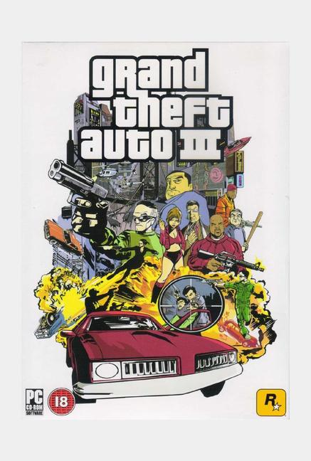 Rockstar games Grand Theft Auto III (PC)