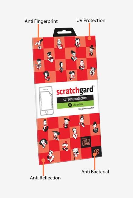 ScratchGard Lava Iris Icon Ultra Clear Screen Protector