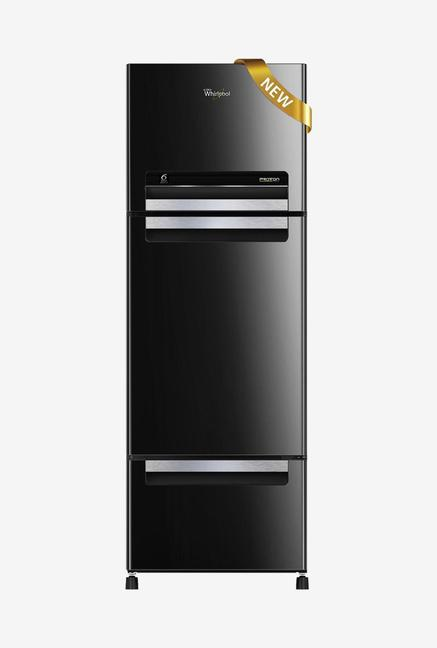 Whirlpool Royal Protton FP 263D Triple Door Refrigerator  Black