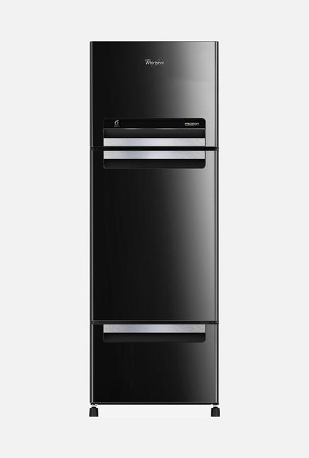 Whirlpool Royal Protton FP 313D Triple Door Refrigerator (Black)