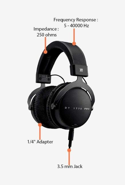 Beyerdynamic DT 1770 Headphones Black