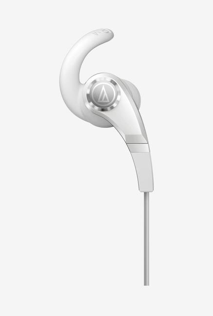 Audio-Technica SonicFuel CKX7IS In The Ear Headphones White
