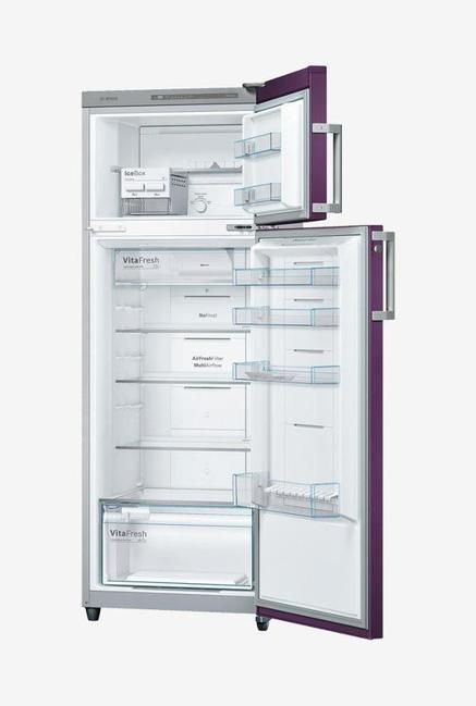 Bosch 288 L Double Door KDN30VR30I Refrigerator Purple