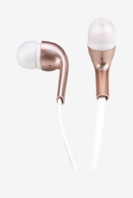 Fendaaudio Professional E210 In the Ear Stereo Earphone with 3.5 mm Headphone Jack Gold