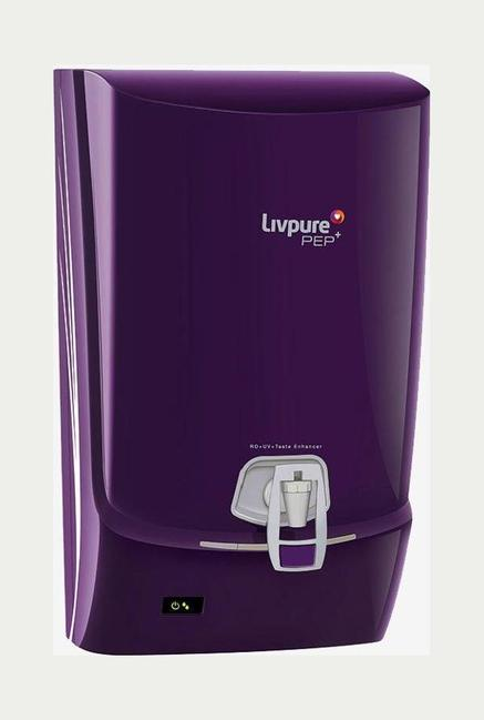 Livpure pep plus FS 7 L RO + UV Water Purifier Purple