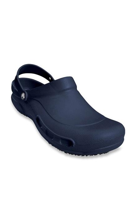 wiele stylów w magazynie świeże style Buy Crocs Bistro Navy Clogs Online at best price at TataCLiQ