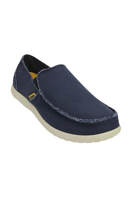 Crocs Santa Cruz Navy \u0026 Stucco Loafers