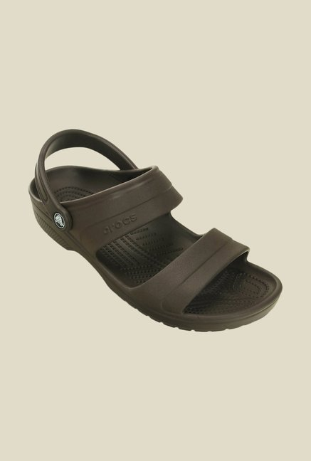 c821915394a6 Buy Crocs Classic Espresso Sandals Online at best price at TataCLiQ