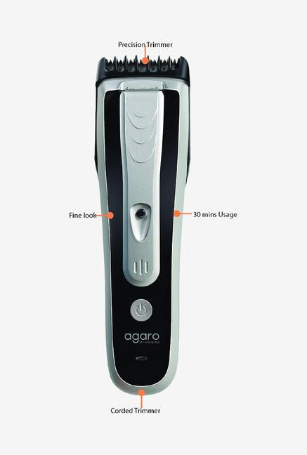 Agaro Trio 8115 Trimmer Silver