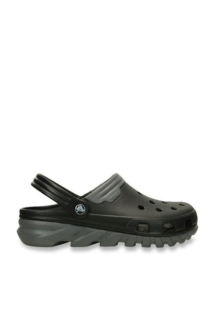 797d574871b Buy Crocs Duet Max Black   Grey Clogs Online at best price at TataCLiQ