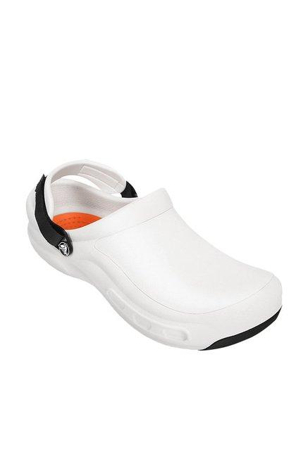 8f2b4b1fd Buy Crocs Bistro Pro White Clogs Online at best price at TataCLiQ