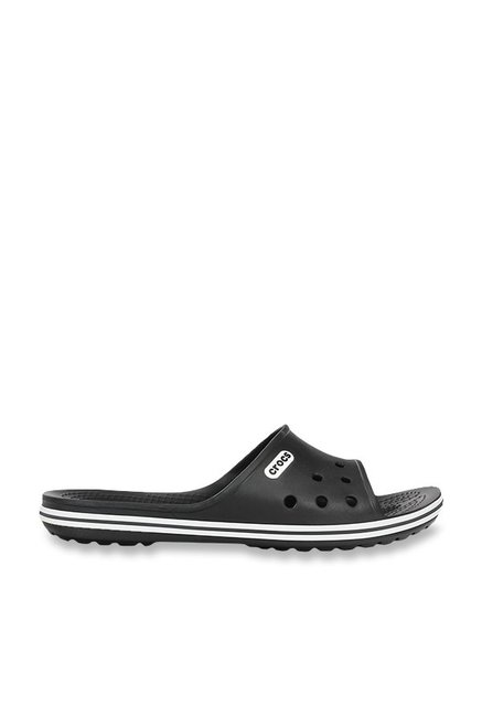 Crocs Crocband LoPro Black Slippers
