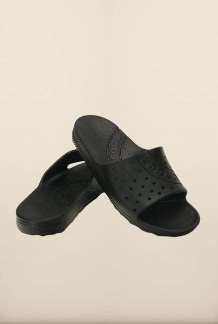 Crocs Chawaii Slide Black Slippers