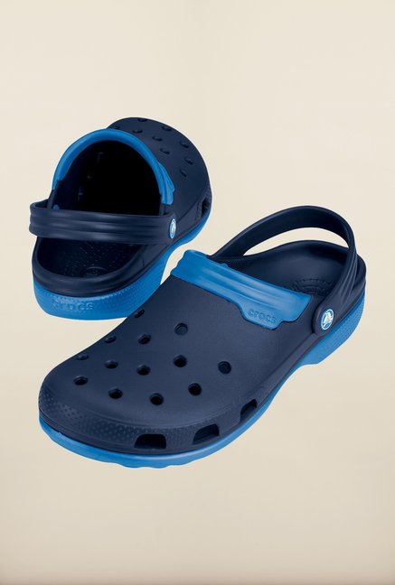Crocs Duet Navy & Sea Blue Clogs