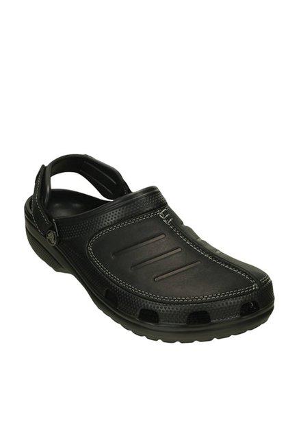 11393ac03a0df2 Buy Crocs Yukon Mesa Black Clogs Online at best price at TataCLiQ