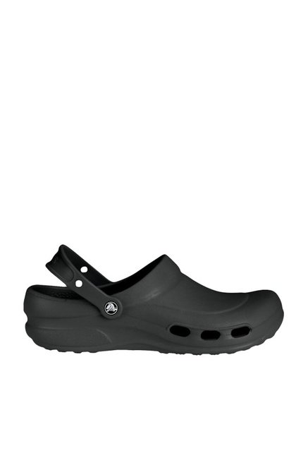 44269085ec32 Buy Crocs Specialist Vent Black Clogs Online at best price at TataCLiQ