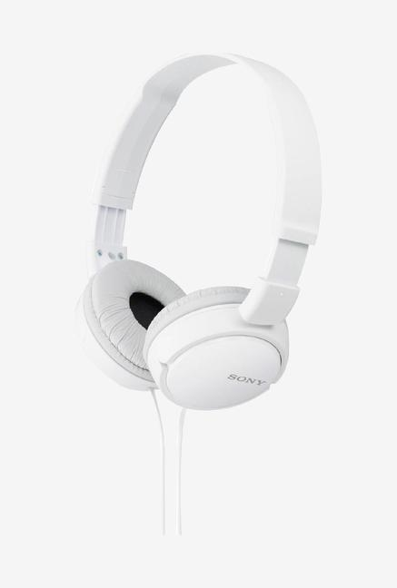 Sony MDR ZX110 Stereo Headphone  White