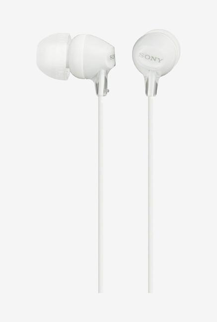 Sony MDR-EX15LP Wired In-Ear Headphone (White)