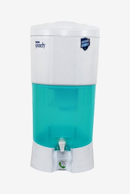 e64125b7495 Tata Swach Silver Boost 27L Gravity Based Water Purifier (Green   White)