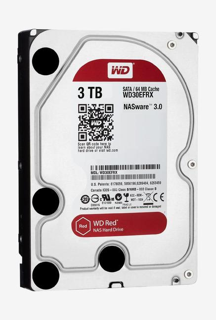 WD Red 3 TB Internal Hard Disk (Silver)