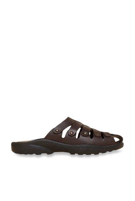 fe7db95eb Buy Privo by Inc.5 Brown Fisherman Slide Sandals Online at best price at  TataCLiQ