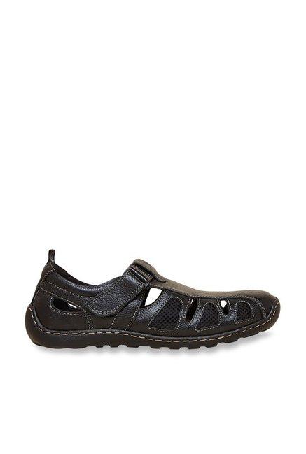 abf4e4045 Buy Privo by Inc.5 Black Fisherman Sandals Online at best price at TataCLiQ