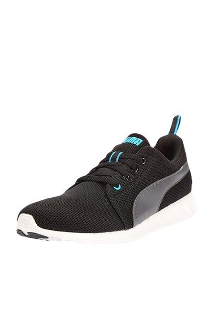 nouveau concept 8cf3d cf09a Buy Puma Carson Runner DP Black & Asphalt Running Shoes For ...