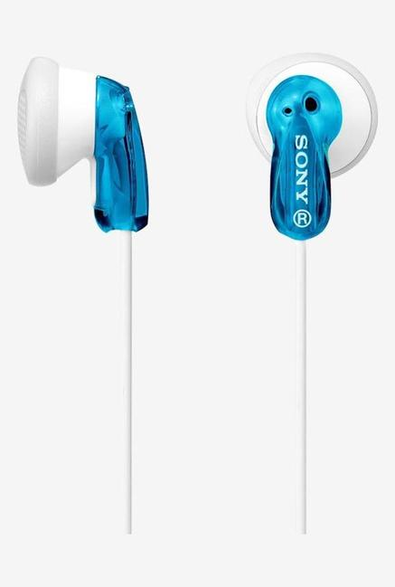 Sony MDR-E9LP In The Ear Headphones (Blue)