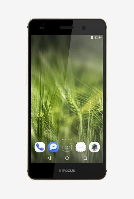 Infocus M808 16GB Memory with 13MP 4x Zoom (Gold)